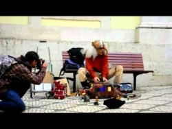 Street Artist Knows How to Groove