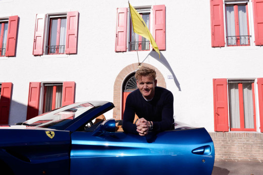 Gordon Ramsay on Ferrari: Many Similarities Between Fine Cars & Fine Cuisine