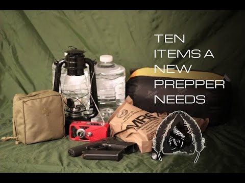 10 Items a New Prepper Needs in Their Arsenal