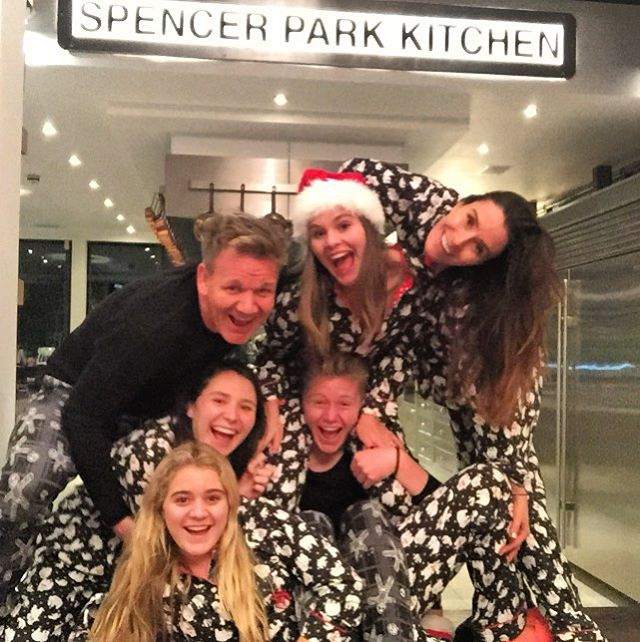 Gordon Ramsay Posts Cutest Christmas Photo Ever