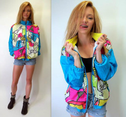 1980s Windbreaker Flashback!