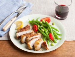 Parmesan Crusted Pork Chop Recipe
