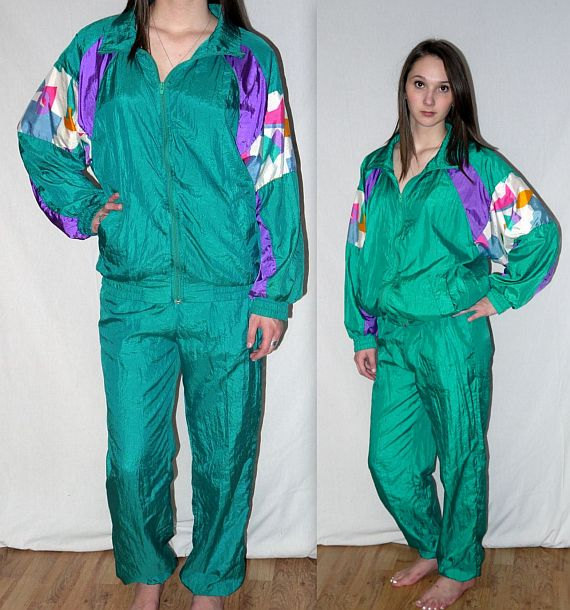 80s Windbreaker Suit • Clattr