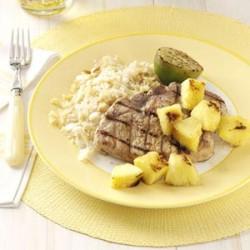 Grilled Jerk Pork Chops Recipe