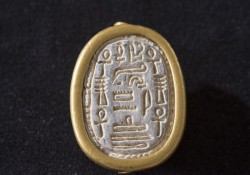 Ancient Egyptian Scarab Found During Passover