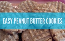 Easy Peanut Butter Cookie Recipe That's Super Fast