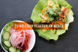 20 Vegetarian Meals for Summer (No-Cook)