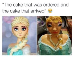 Imgur User Posts The Best Frozen Cake Ever
