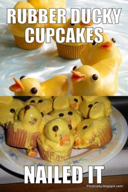 Rubber Ducky Cupcakes DIY? Nailed It!