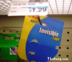 Invisible tape? No really it's invisible!