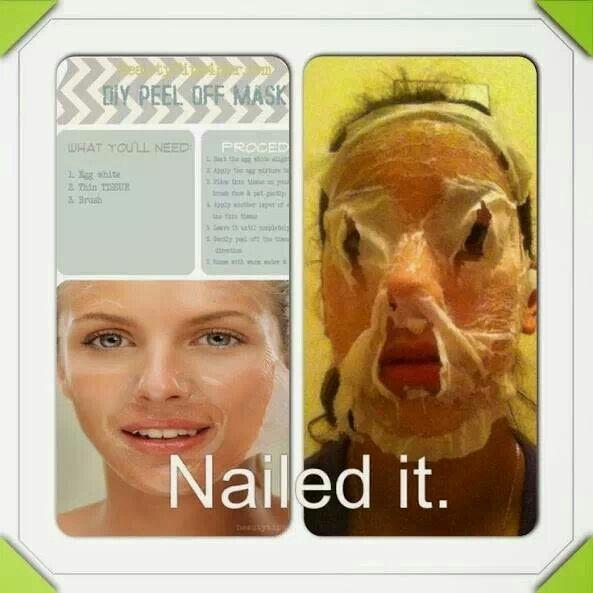 Diy Peel Off Face Mask No Problem Clattr