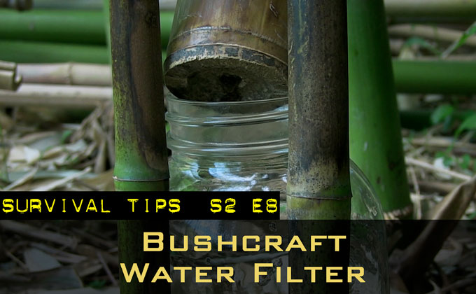 Bushcraft Water Filtration and Solar Disinfection
