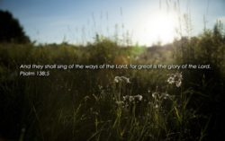 Psalm 138: The Lord Will Perfect That Which Concerns Me