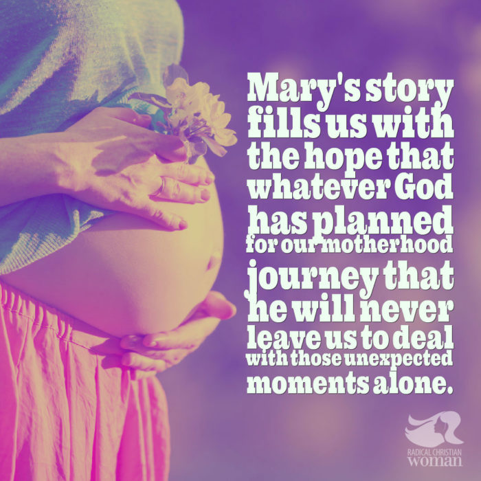 Virgin Mary's Advice for New Moms
