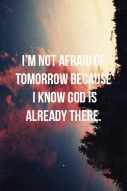 I Know God is Already There