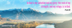 Psalm 62: In God is my salvation and my glory