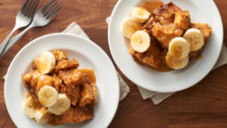Recipe For Salted Caramel-Banana Cinnamon Rolls in your Slow -Cooker