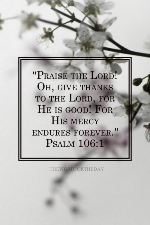 Praise the Lord and Give Thanks