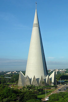 Cathedral of Maringá in Brazil