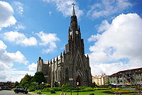 Cathedral of Our Lady of Lourdes in Brazil