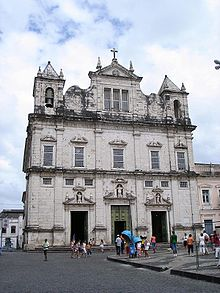 Cathedral of Salvador in Brazil