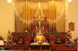 Brandon United Methodist Christmas Decorations