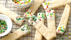 Dipped Sugar Cookie Sticks