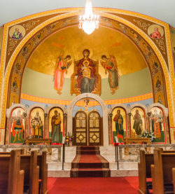 St. Sophia's Greek Orthodox Church in Syracuse, NY