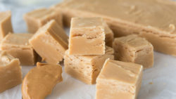 Peanut Butter Fudge with 3 Ingredients