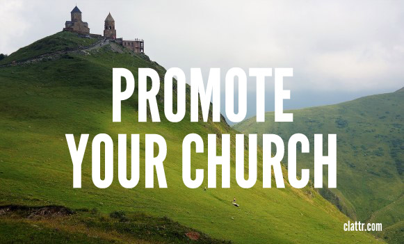 Promote Your Church or Ministry on Clattr