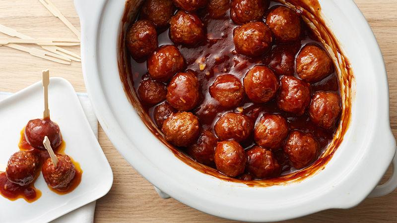 Honey-Garlic BBQ Meatballs