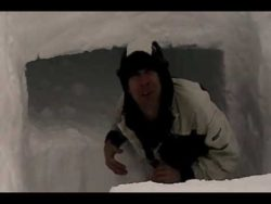 Snow Cave Winter Shelter Building | Christian Bushcraft