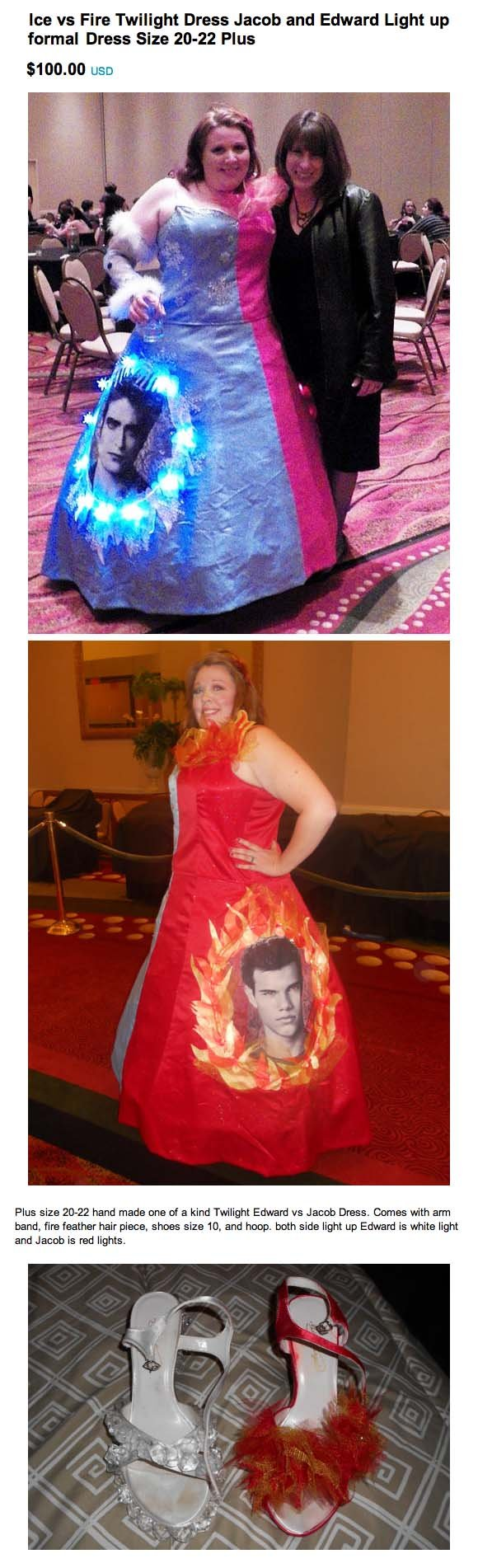And the award for worst prom dress ever goes to Twilight Girl