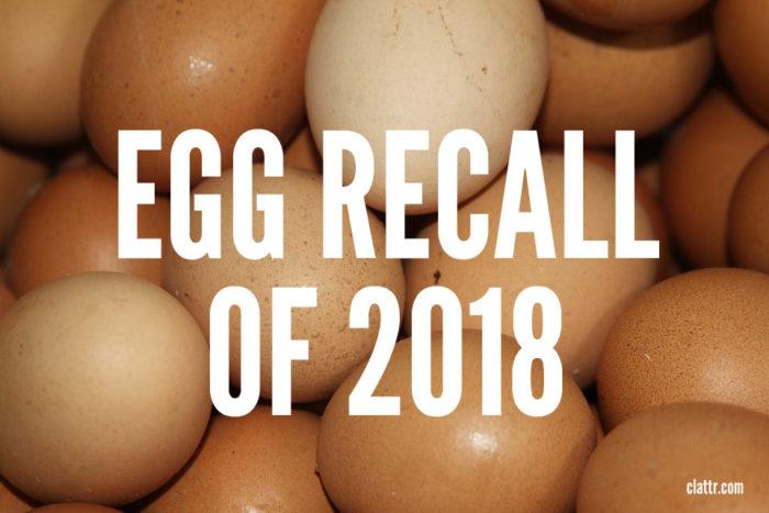Egg Recall 2018: List of Brands Recalled