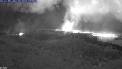 East Rift Zone of Kilauea Volcano (Webcam Feed)