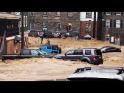 Ellicott City Flood: Maryland Flash Flood Sweeps Cars Away