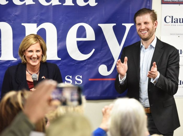 Eric Trump Rallies Volunteers for Tenney in CNY