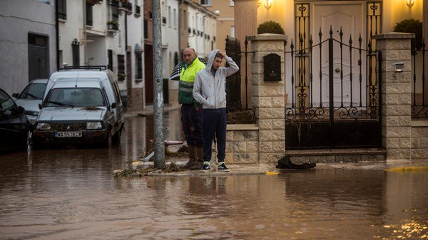Flooding Hits Southern Spain