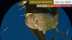 Abnormally wet summer has impacted US drought map majorly