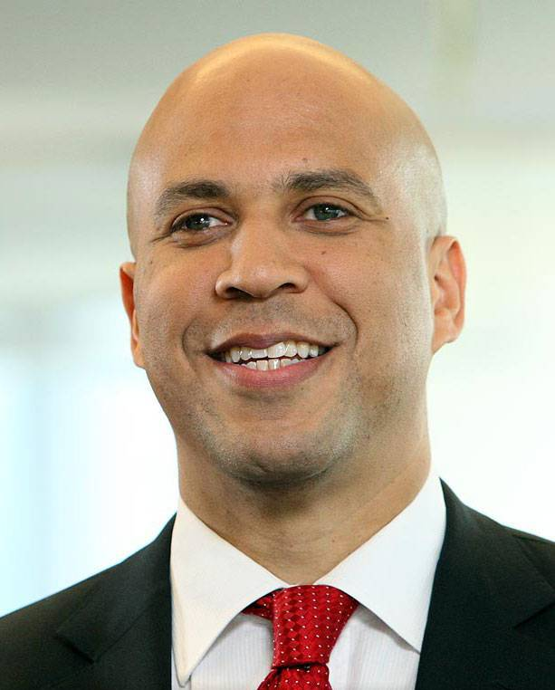 """Cory Booker speaks out about """"Nie-phew"""" trans activist"""