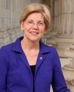 Elizabeth Warren now favored over Biden by 10 percent