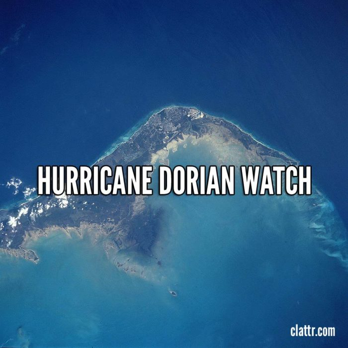 Hurricane Dorian expected to Hit Grand Bahama Island